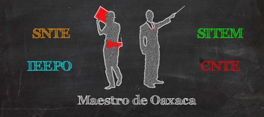 Maestro de Oaxaca:Bienvenido