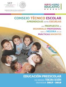 Preescolar CTE Sesion 3 2017-2018