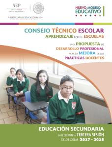 Secundaria CTE Sesion 3 2017-2018