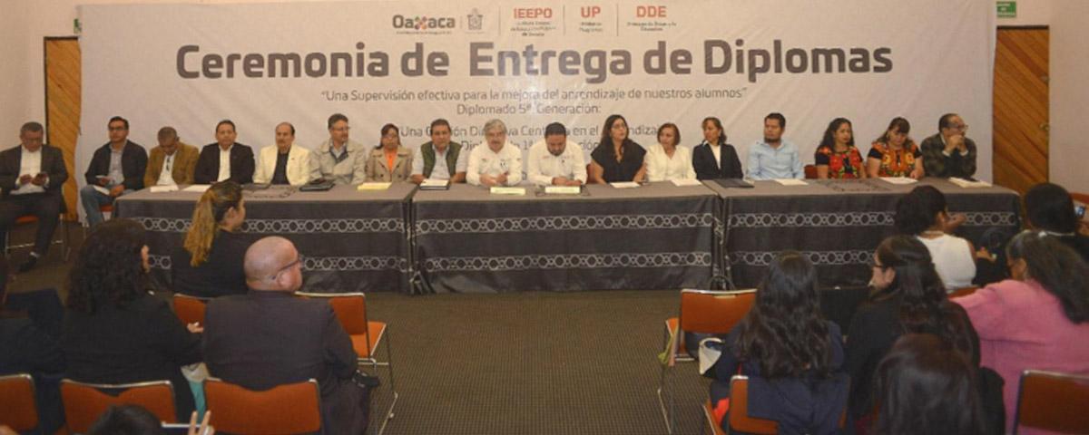 33 supervisores y 106 directores concluyenDiplomado