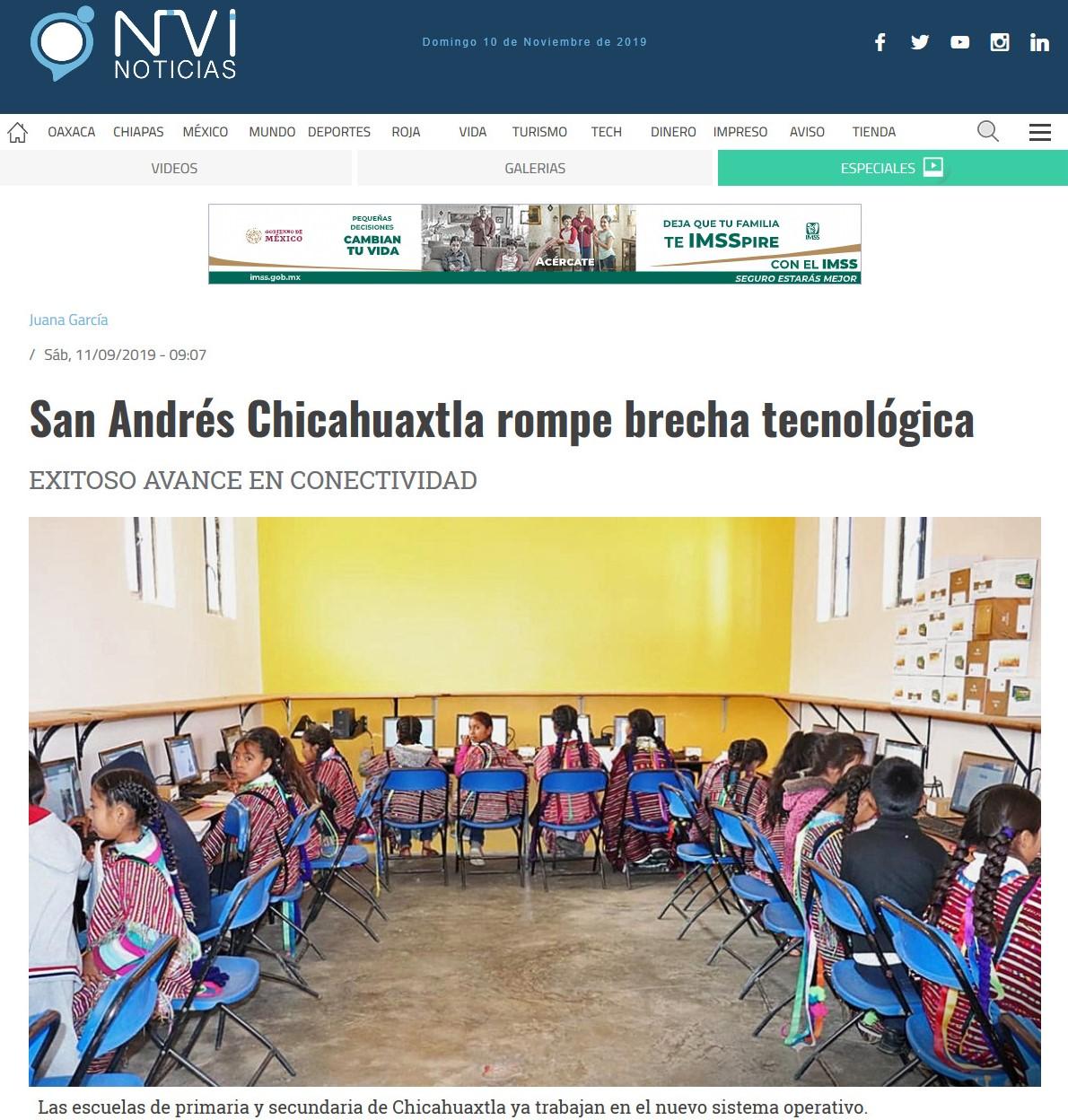 Screenshot_2019-11-10 San Andrés Chicahuaxtla rompe brecha tecnológica